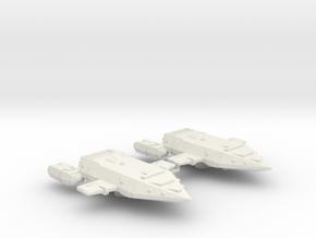 3788 Scale Orion Battle Raiders (2) CVN in White Natural Versatile Plastic