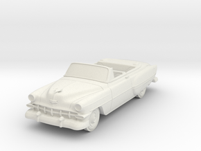 1954 Chevy Bel-air Convertible in White Natural Versatile Plastic