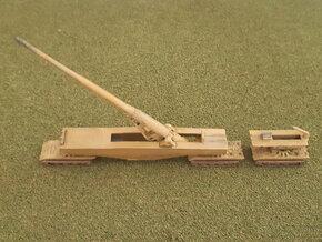 German E-100 Tanks with 28cm K5 Gun 1/285 in Smooth Fine Detail Plastic