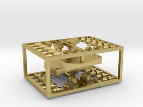 Zubehörsatz sächs. CSa09/CSa10 - TT 1:120 in Natural Brass
