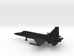 Chengdu FC-1 Xiaolong / JF-17 Thunder in Black Natural Versatile Plastic: 1:200