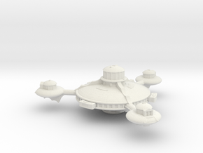 Omni Scale Romulan Augmented Battle Station MGL in White Natural Versatile Plastic