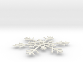 3788 Scale North Polar Snow Command Cruiser SRZ in White Natural Versatile Plastic
