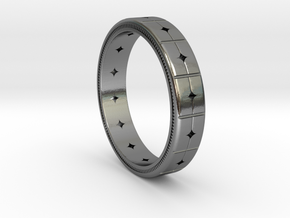 Women's Band Ring #1 in Polished Silver