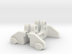 Kyosho Optima Mid swb Shortie cradle in White Natural Versatile Plastic