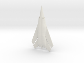 NATF-22 (Navy-Advanced-Tactical-Fighter) in White Natural Versatile Plastic: 1:350
