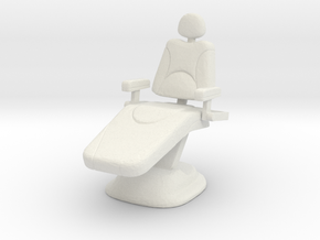 Dentist Chair 1/35 in White Natural Versatile Plastic