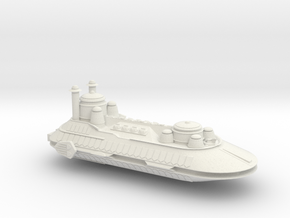 Hutt War Barge in White Natural Versatile Plastic
