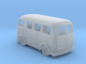 Peugeot Fourgon d4a 1:120TT in Smooth Fine Detail Plastic
