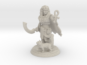 Egyptian Queen Miniature in Natural Sandstone