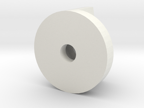 replacement screw for toilet bowl in White Natural Versatile Plastic