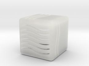 Elemental Water Die (Small) in Smooth Fine Detail Plastic