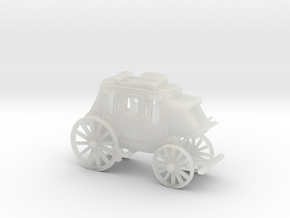 HO Scale Stagecoach in Smooth Fine Detail Plastic