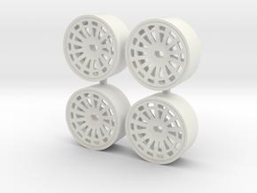 DELTA 4WD FRONT C+0 in White Natural Versatile Plastic