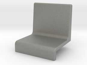Small armchair for grandstand in Gray PA12