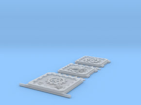 Group3 Rhi Doors Sides and Front in Smooth Fine Detail Plastic