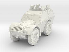 Autocarro Protetto (shields) 1/76 in White Natural Versatile Plastic