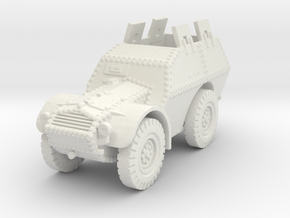 Autocarro Protetto (shields) 1/120 in White Natural Versatile Plastic