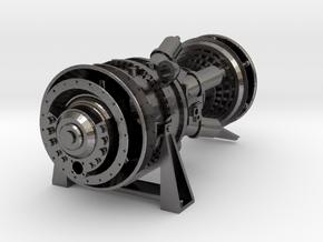 15MW Gas Turbine in Polished Nickel Steel: 1:48 - O