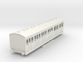 o-32-met-orig-ashbury-bogie-composite-coach in White Natural Versatile Plastic