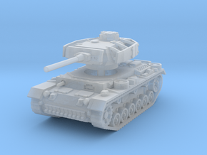 Panzer III L (Schurzen) 1/160 in Smooth Fine Detail Plastic