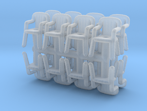 Plastic Chair (x16) 1/144 in Smooth Fine Detail Plastic