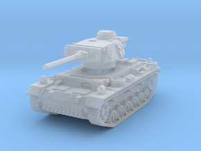 Panzer III M 1/285 in Smooth Fine Detail Plastic