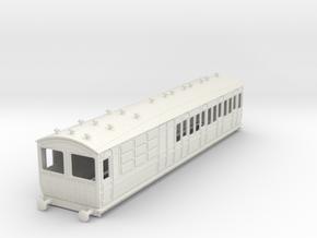 o-43-met-ashbury-chesham-brake-3rd-coach in White Natural Versatile Plastic