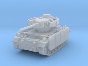 Panzer III M (schurzen) 1/160 in Smooth Fine Detail Plastic
