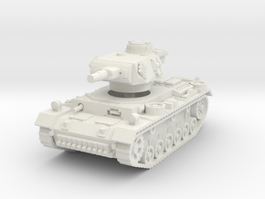 Panzer III N 1/87 in White Natural Versatile Plastic