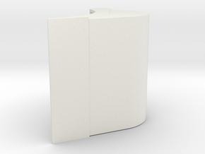 CW45 dieplepel in White Natural Versatile Plastic