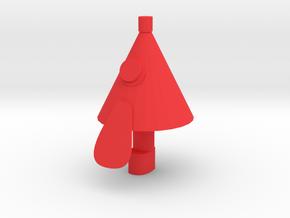 Don Umbrella in Red Processed Versatile Plastic