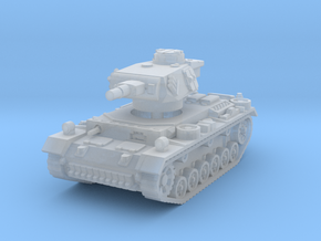 Panzer III N 1/144 in Smooth Fine Detail Plastic