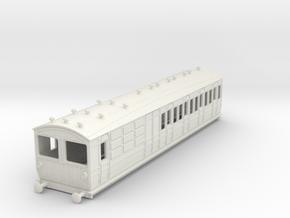 o-76-met-ashbury-bogie-brk-3rd-bth-motor-coach in White Natural Versatile Plastic
