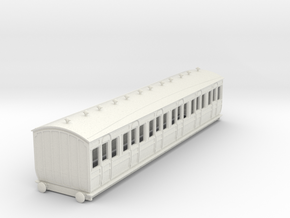 o-100-met-ashbury-bogie-first-class-coach in White Natural Versatile Plastic