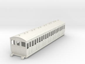 o-100-met-ashbury-bogie-third-class-driver-coach in White Natural Versatile Plastic