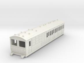 o-100-met-ashbury-bogie-brk-3rd-bth-motor-coach in White Natural Versatile Plastic