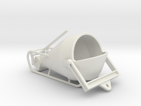 1-50 Concretebucket 1250L Transport in White Natural Versatile Plastic