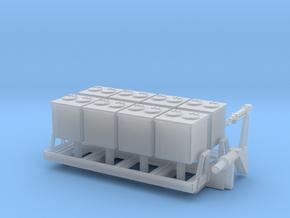 1:160 Aufbau LKW IFA W 50 Müllcontainer  Typ 1 in Smooth Fine Detail Plastic