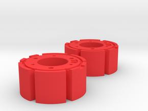 1:50 Fendt Radgewichte in Red Processed Versatile Plastic: 1:50
