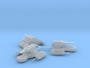 Taoyun-1-Frigate-(3) in Smooth Fine Detail Plastic