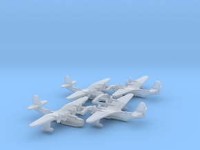 Russian Tupolev MTB-2 Flying Boat (x4) in Smooth Fine Detail Plastic