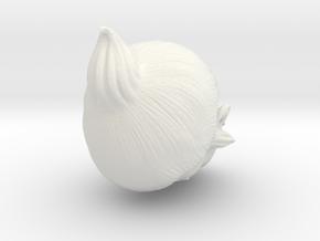Crowscar of the Nightfall in White Premium Versatile Plastic