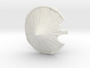 Undead Katsushiro in White Natural Versatile Plastic