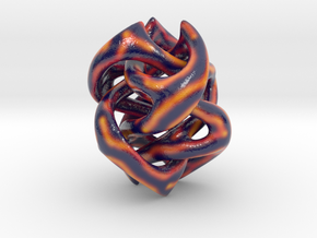 Neguvi Sculpture (smooth variant) in Glossy Full Color Sandstone
