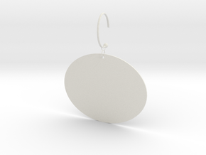 Chinese Valentine's Day and April Fool's Day earri in White Natural Versatile Plastic