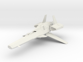 DA-84 Scimitar Mk II in White Natural Versatile Plastic