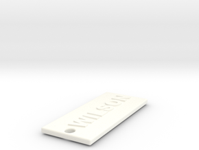 WILSONITSICE in White Processed Versatile Plastic