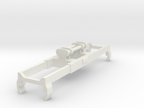 Bromma Crane Spreader N scale in White Natural Versatile Plastic