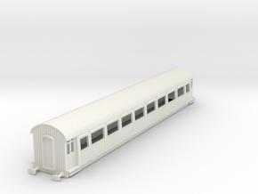 o-76-gcr-barnum-open-3rd-saloon-coach in White Natural Versatile Plastic